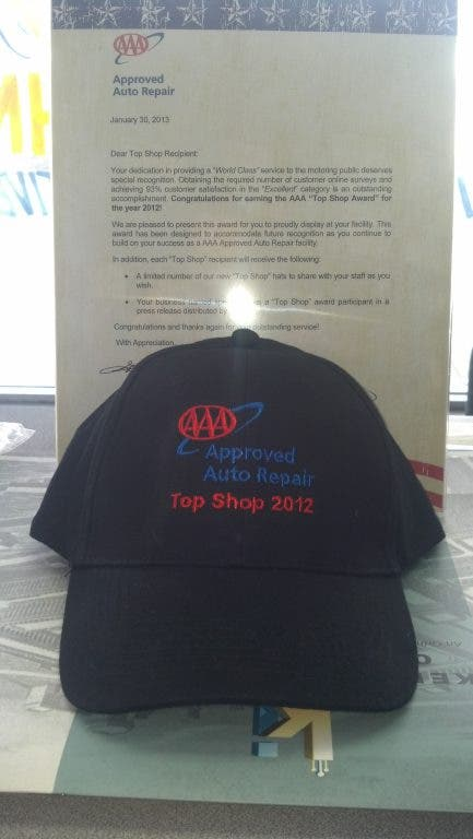 Dunrite Automotive Named a 2012 AAA