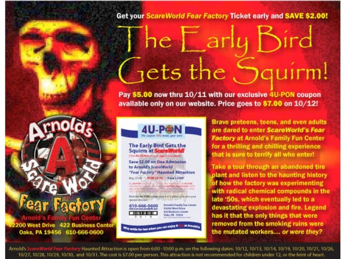 Arnold's Puts the Fear into Fear Factory!   Lower Providence
