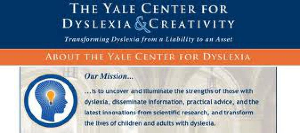 Understanding Dyslexia The Yale Center For Dyslexia Creativity >> Dyslexia Revealed Yale Experts To Speak In Stonington