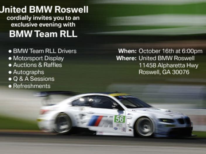 United Bmw Roswell >> Bmw Motorsport At United Bmw Roswell Roswell Ga Patch