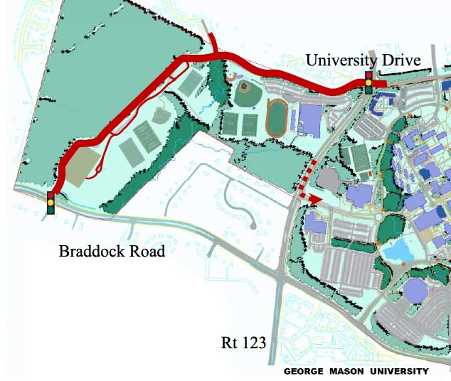 Mason Looks to Add Roads, Bridge to Connect Fairfax Campus ...