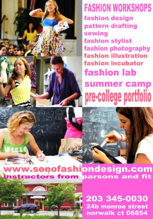New England Fashion Design Association Announces Summer Camp After School Program And Professional Workshop New Canaan Ct Patch