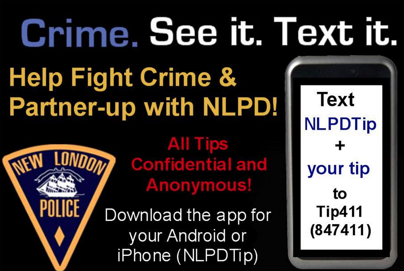 Want To Give New London Police A Tip? There's An App For