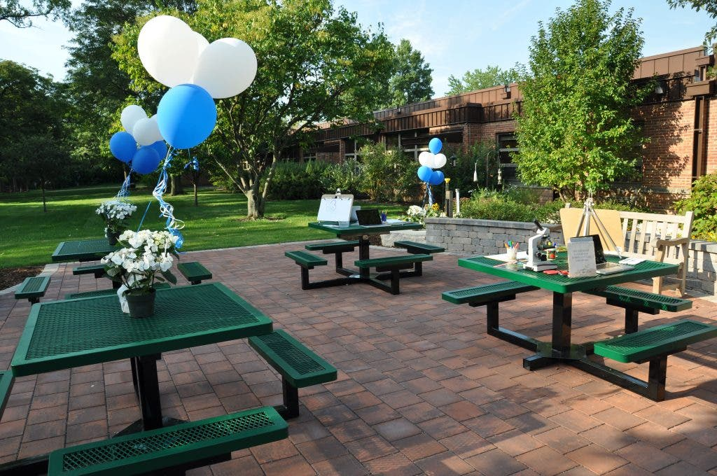 Fantastic Oak School Celebrates Opening Of Outdoor Classroom Uwap Interior Chair Design Uwaporg