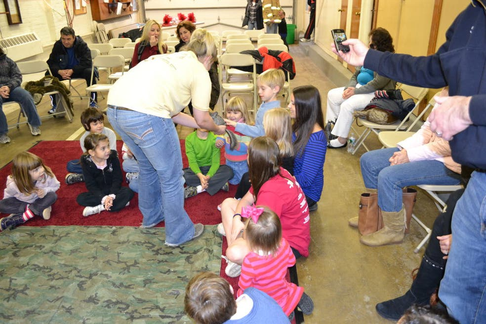 A Firehouse Christmas.Snakes In A Firehouse Christmas Party For Kids Gives Them A