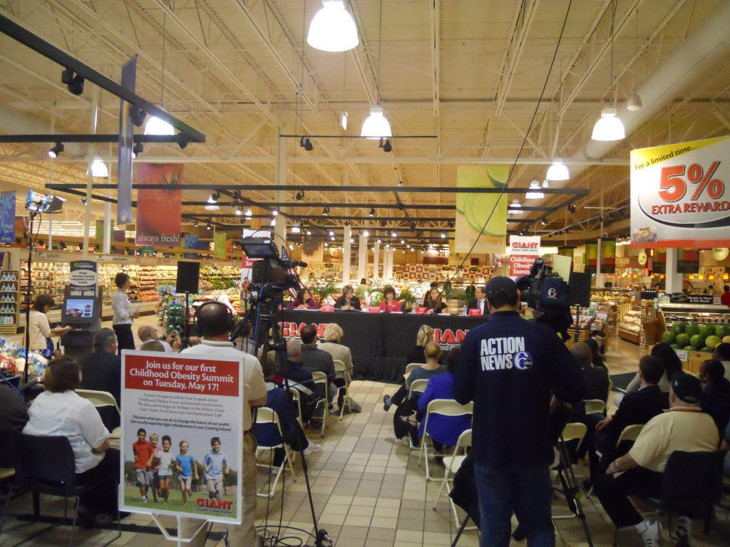 Willow Grove Giant Super Food Store Hosts Childhood Obesity Conference Upper Moreland Pa Patch