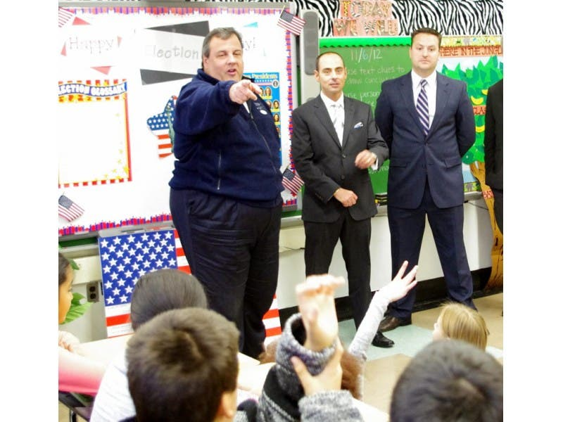 Governor Christie Visits Berkeley Elementary School Westwood Nj Patch