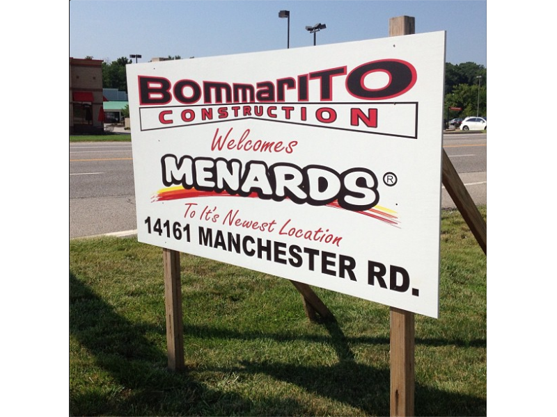 Menards Sets Goal for Opening in Manchester | Town And