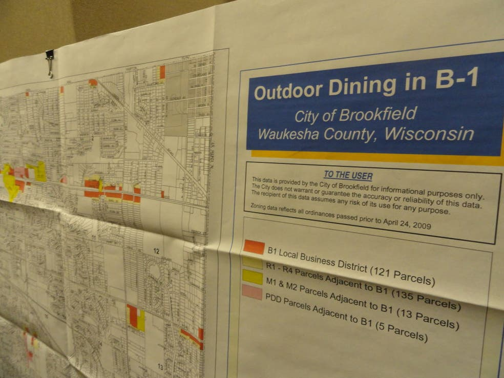 Outdoor Dining OK, Without Amplified Music | Brookfield, WI