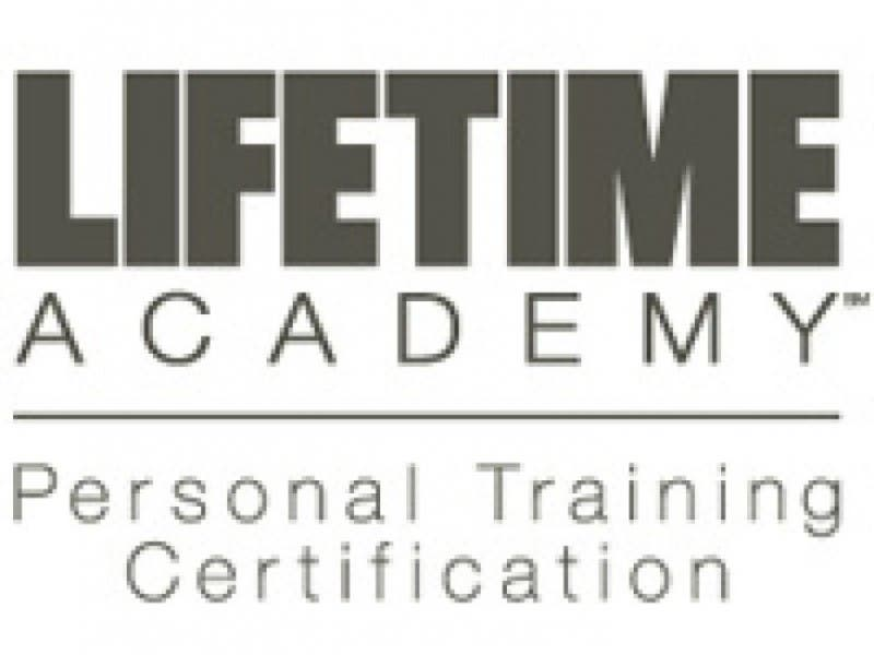 Life Time Academy Open House Personal Training Certification Patch