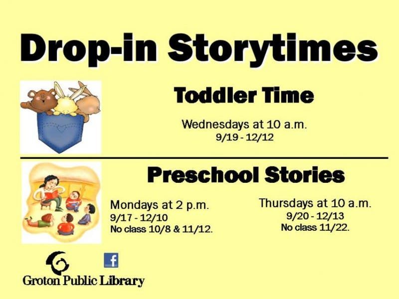 Preschool Stories With Miss Tracy Drop In Storytime Monday Session