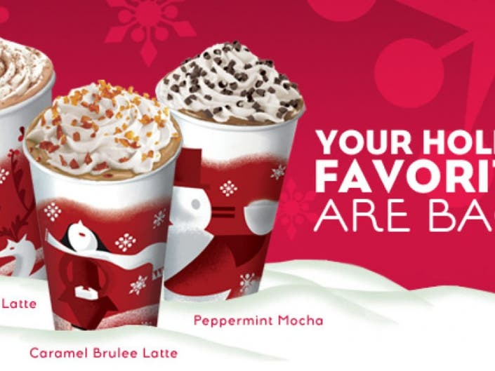 Reminder Holiday Jolt Starbucks Offering 2 For 1 Drink