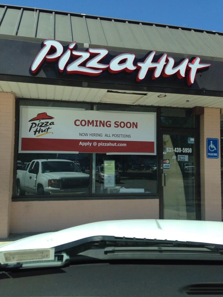 Pizza Hut Coming Soon To Patchogue Medford Ny Patch