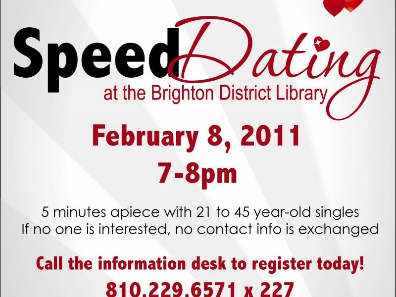 8 minutes speed dating