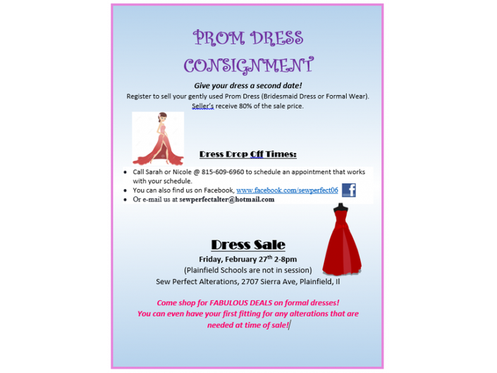 5cc01ff38d4 Prom Dress Consignment Sale