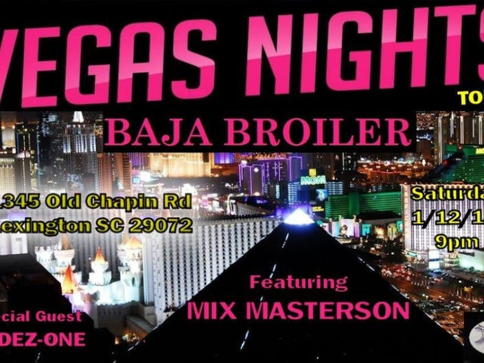 VEGAS NIGHTS @ BAJA BROILER | Lexington, MA Patch