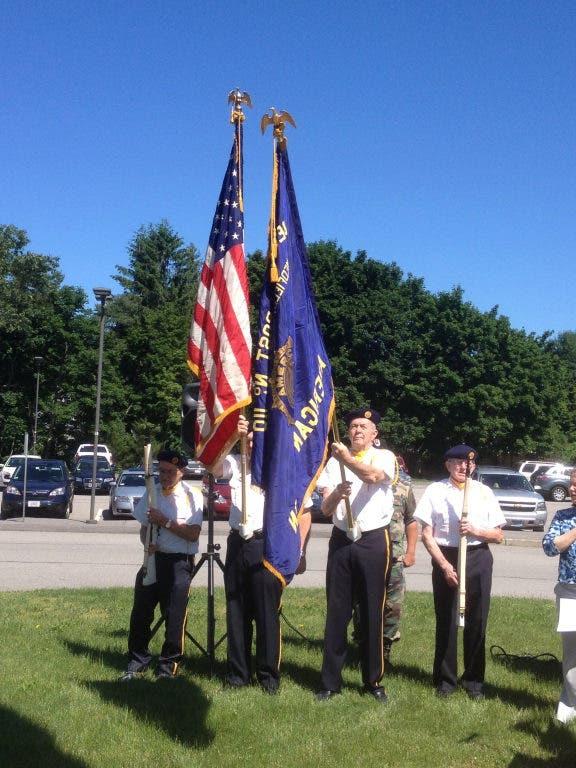 Veterans Memorial Dedication at Former Medfield High ...
