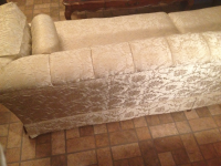 Custom Made Vintage Brocade Sofa Circa 1968 1