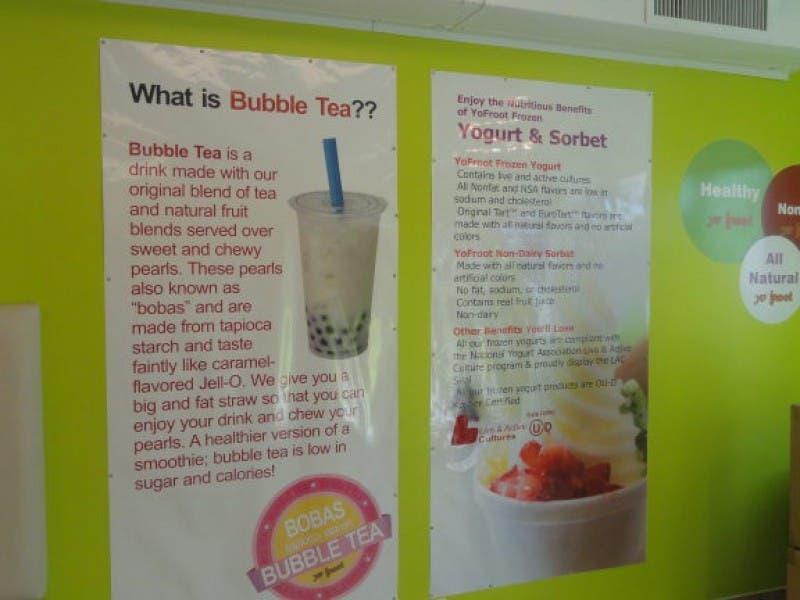 New Business Offers Bubble Tea, Self-Serve Frozen Yogurt