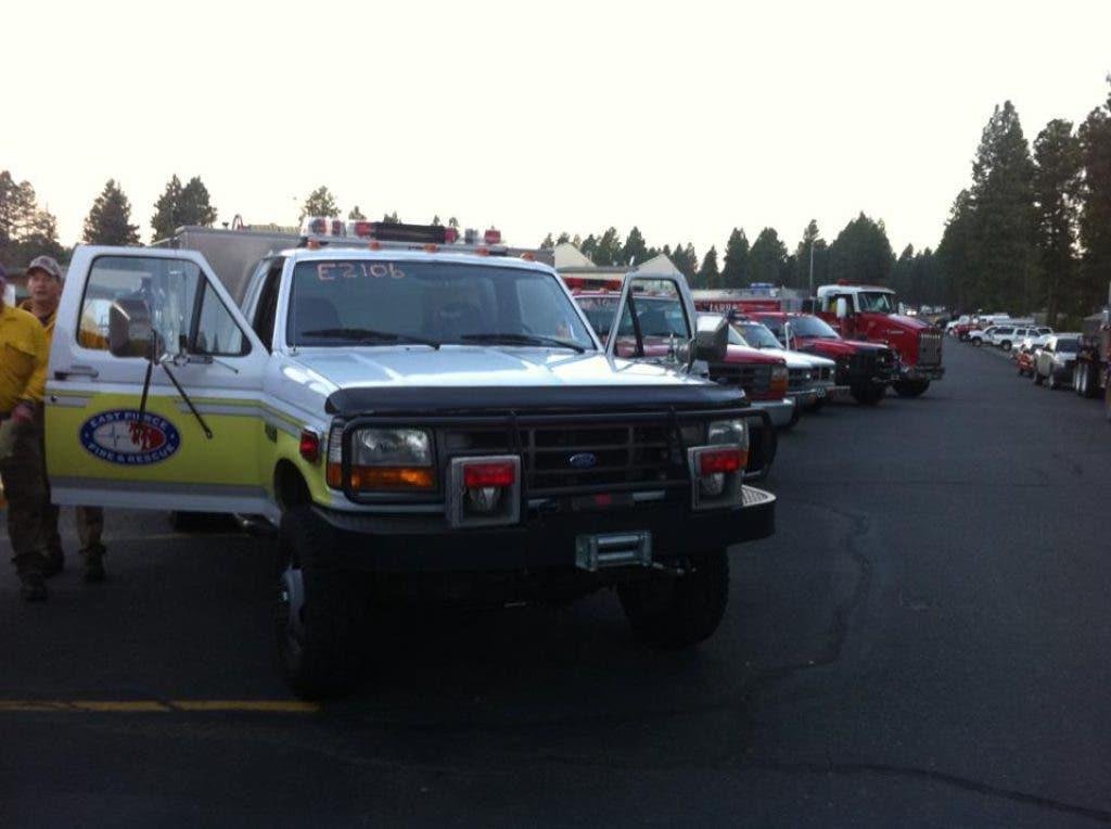 PICS: Gig Harbor, Key Peninsula Firefighters Help Battle