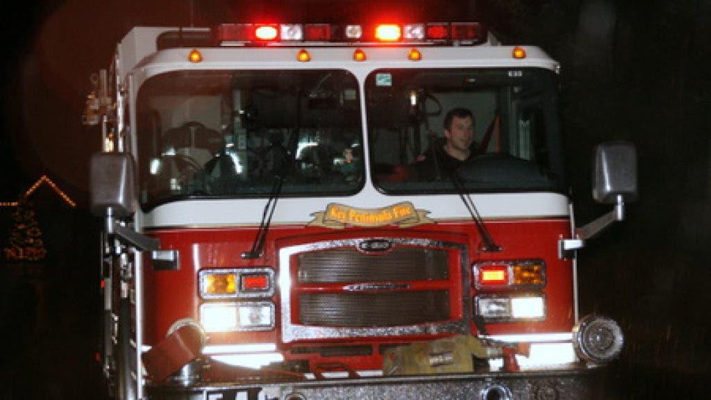 Santa, Mrs  Claus Visit Key Peninsula via Fire Truck | Gig