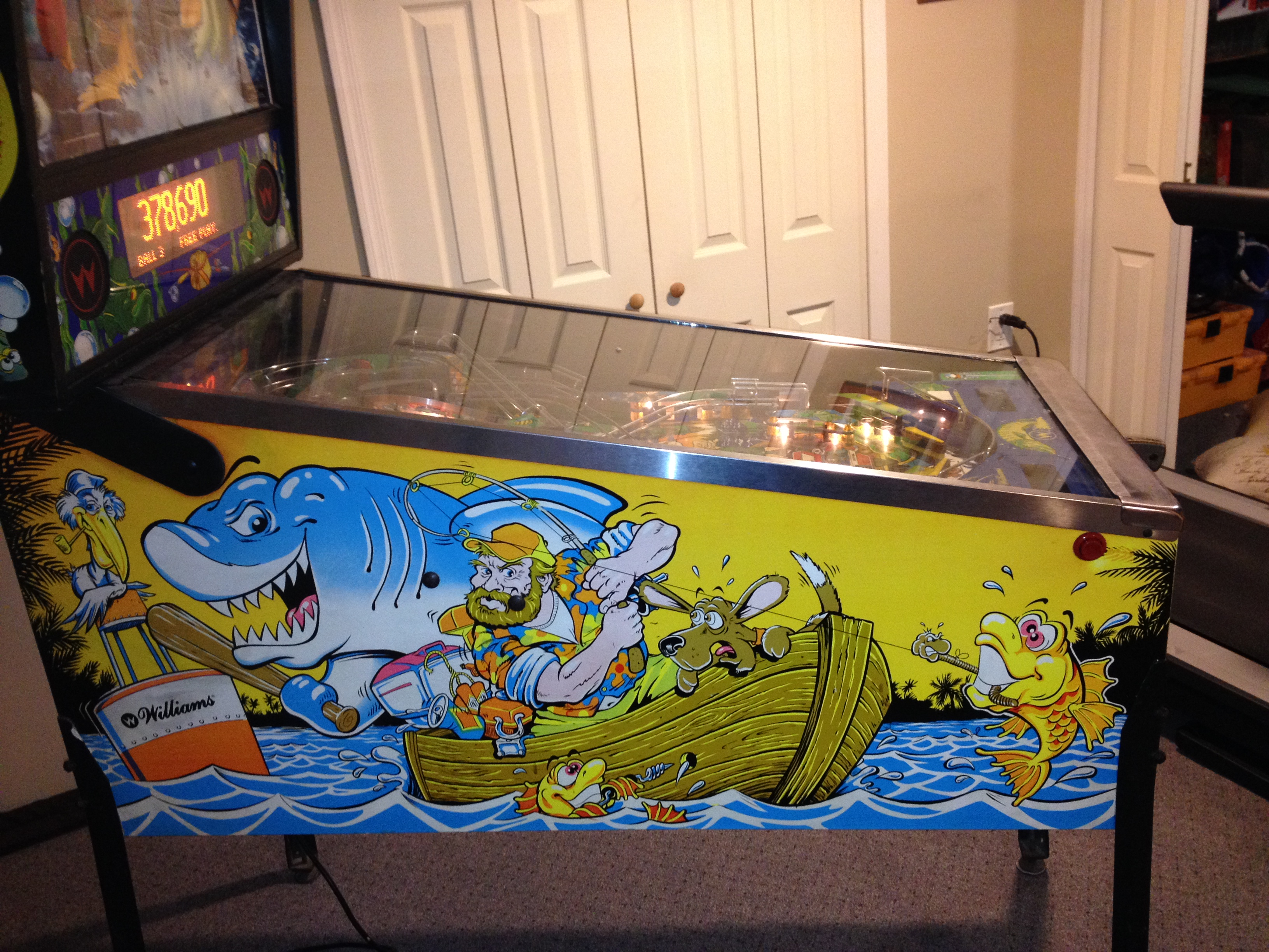 1992 Fish Tales Pinball Machine For Sale | Merrick, NY Patch