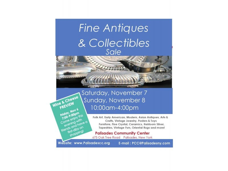 Fine Antiques Collectibles Sale Nyack Ny Patch