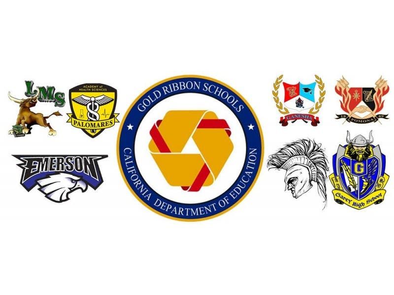 7 pomona unified schools awarded gold ribbons diamond bar ca patch
