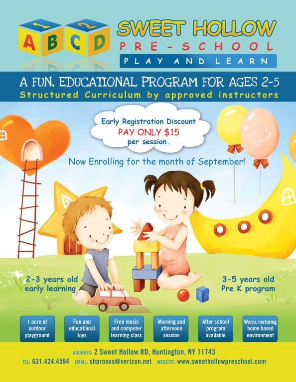 Learn Nursery Preschool Open House
