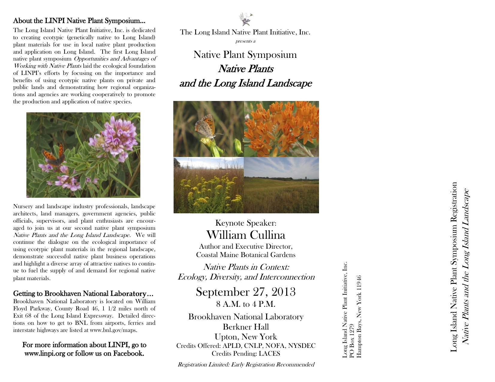 Linpi Native Plant Symposium Native Plants And The Long Island