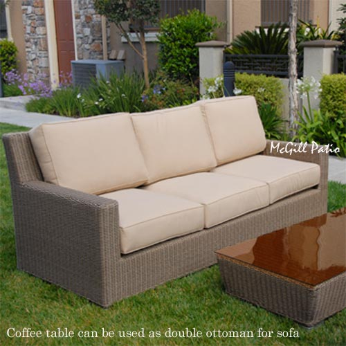 All Weather Wicker Outdoor Furniture Mcgill Patio Deep
