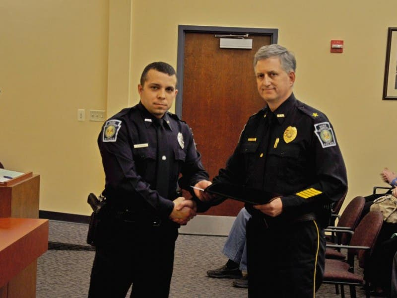 Commissioners Honor Three Ross Township Police Officers