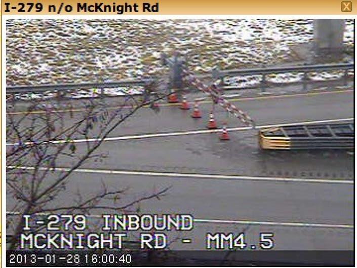 Traffic Alert: PennDOT Closing Inbound HOV Entrance from