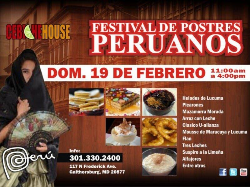 Peruvian Desserts Festival 12 Gaithersburg Md Patch