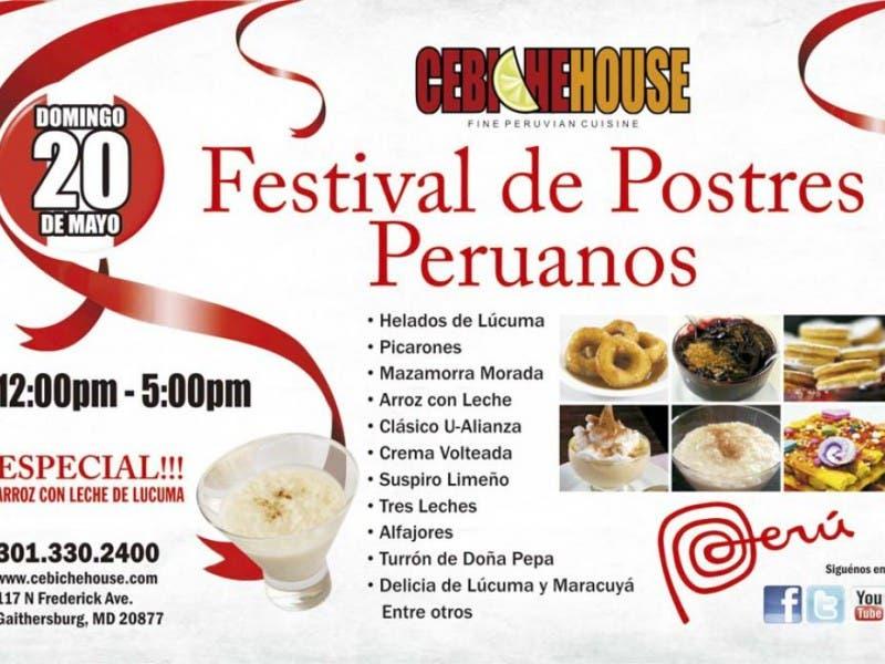 Peruvian Desserts Festival Gaithersburg Md Patch