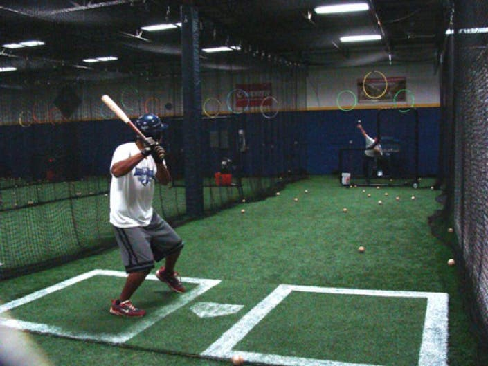 Take Me Out To The Batting Cage Baseball In Full Swing