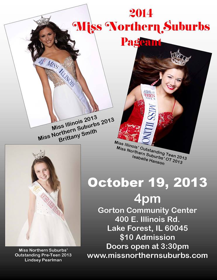 Miss Northern Suburbs Pageant | Lake Zurich, IL Patch