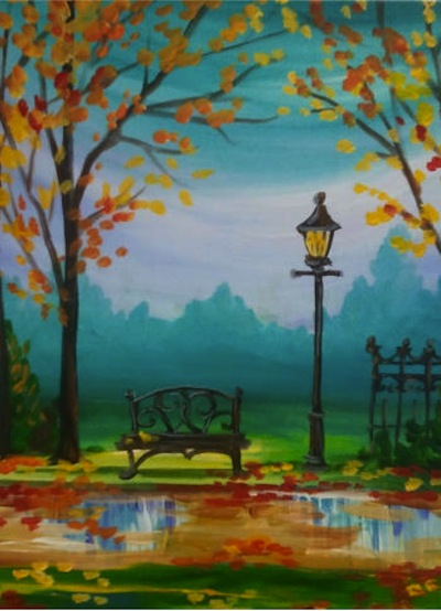 Paint Park Bench And Enjoy Wine At The Artist Lounge Oakland Township Mi Patch