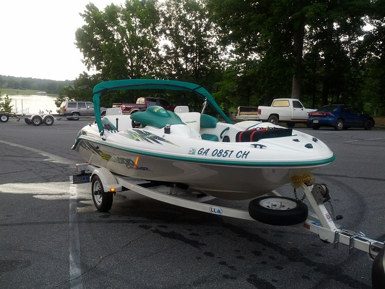 2000 SEA-DOO CHALLENGER twin engine jet boat | Cumming, GA Patch
