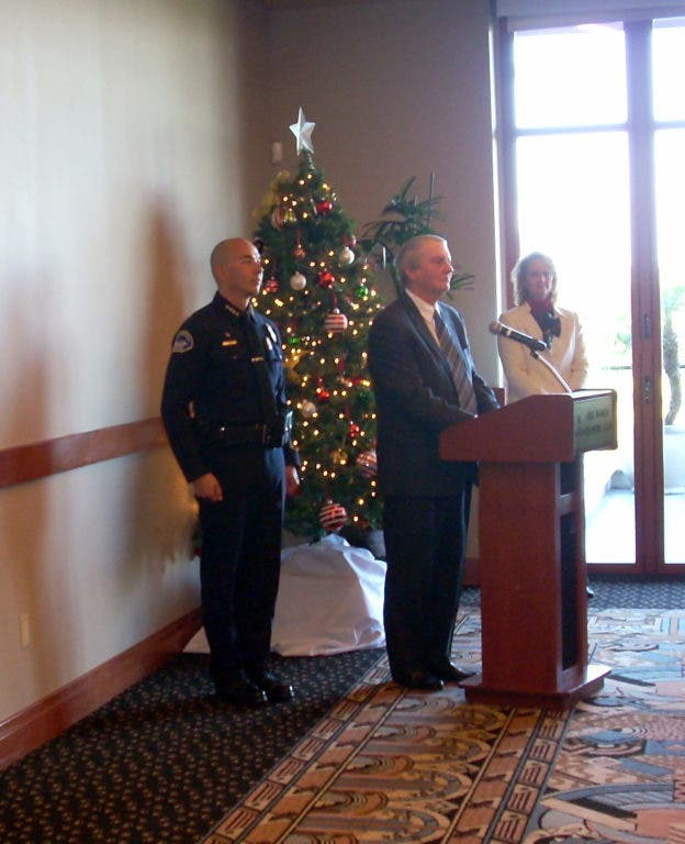 New Seal Beach Police Chief Sworn In