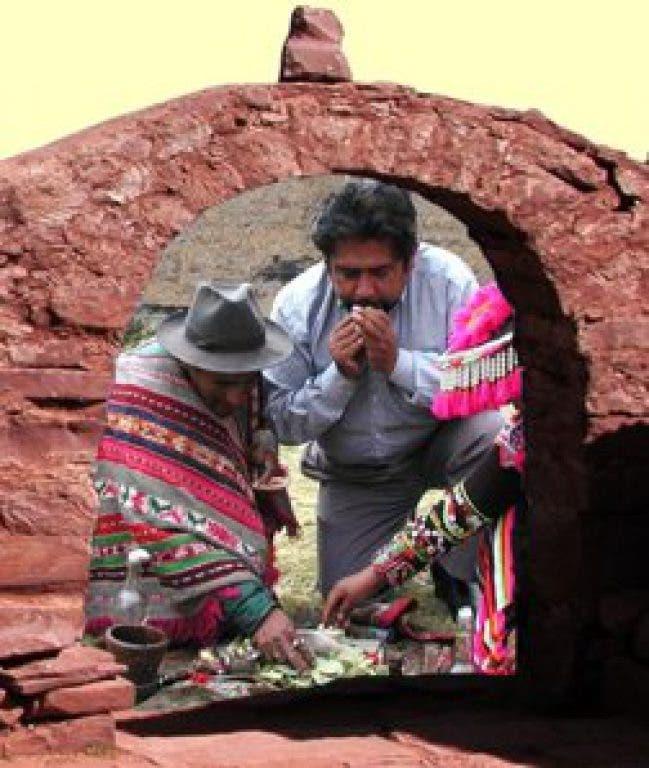 Andean shaman, Healer and Mystic Jorge Delgado in Sarasota