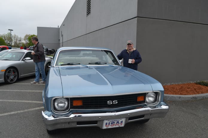 Malden Resident Attends Herb Chambers Cars amp Coffee