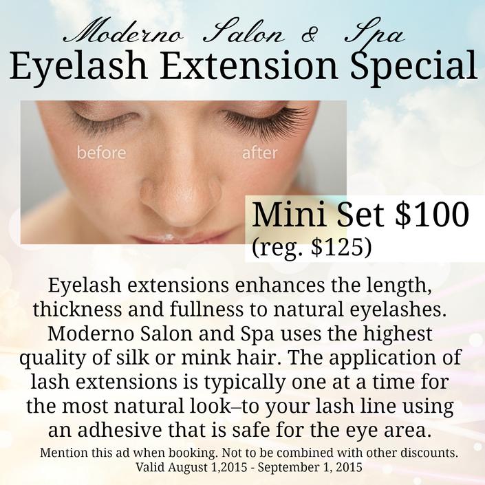 Eyelash Extensions The Splurge You Deserve: Eyelash Extension Special