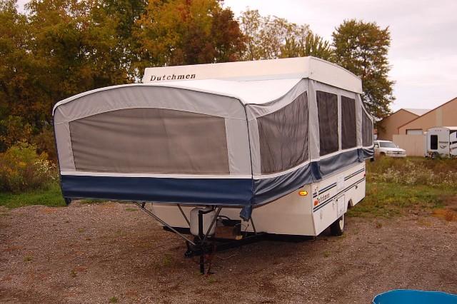 1996 Dutchman Duck Pop-Up Camper = Needs Work but Doable - $647