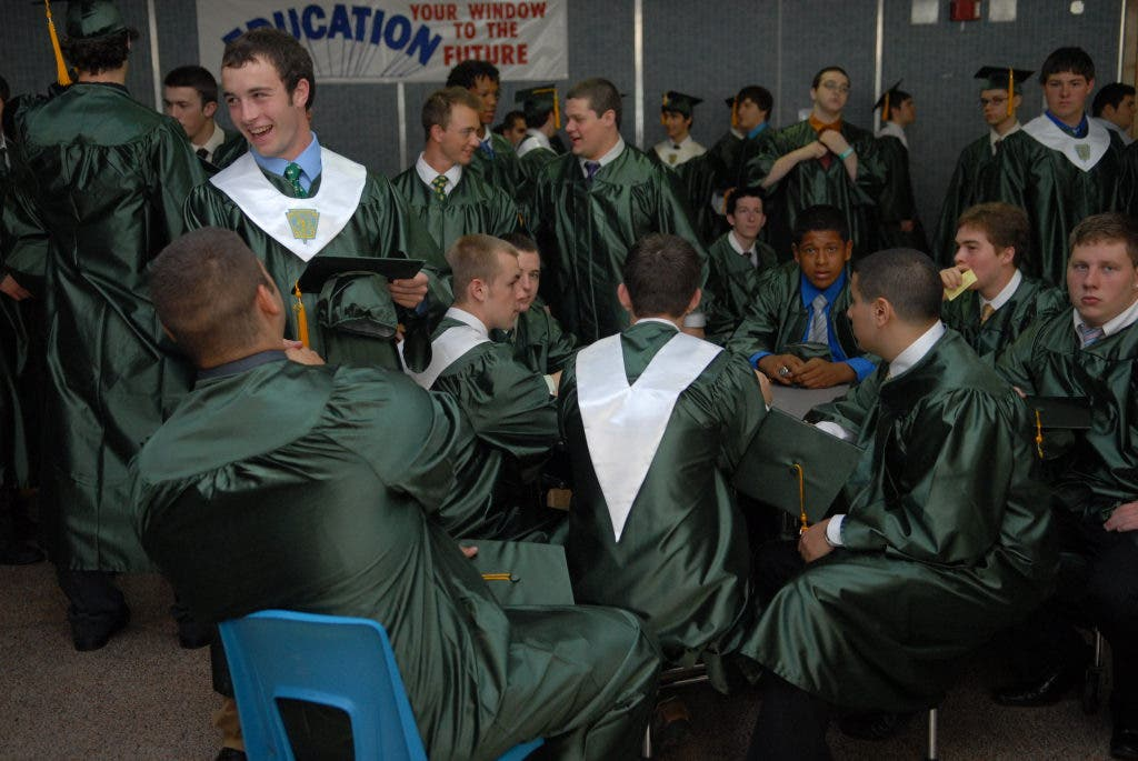 Viewfinder: 200 Seniors Graduate from St  Edward High School