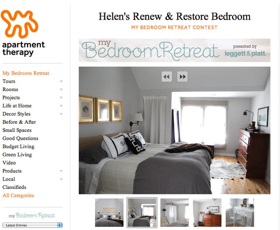 Two Evanston Bedrooms Featured In Apartment Therapy Contest Evanston Il Patch,Diy Halloween Decorations Indoor