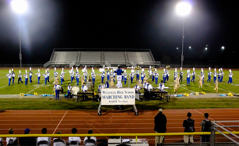 new concept 66c20 02727 Westfield High School Marching Blue Devils Finish First in ...