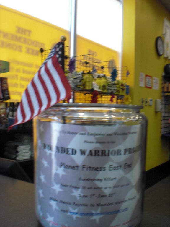 Planet Fitness Holds Wounded Warrior Fund Drive | Miller