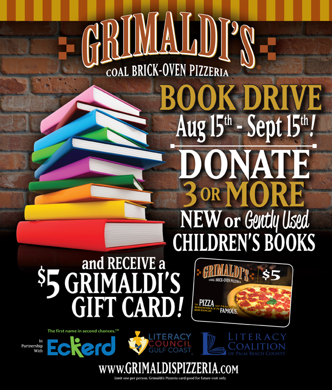 Largo Town Center: Grimaldis Pizzeria Partners With Eckerd Community