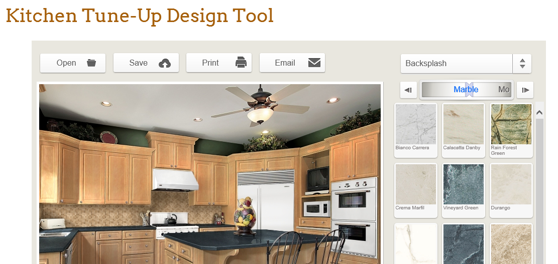 Free Online Kitchen Design Tool now Available   Carrollwood ...